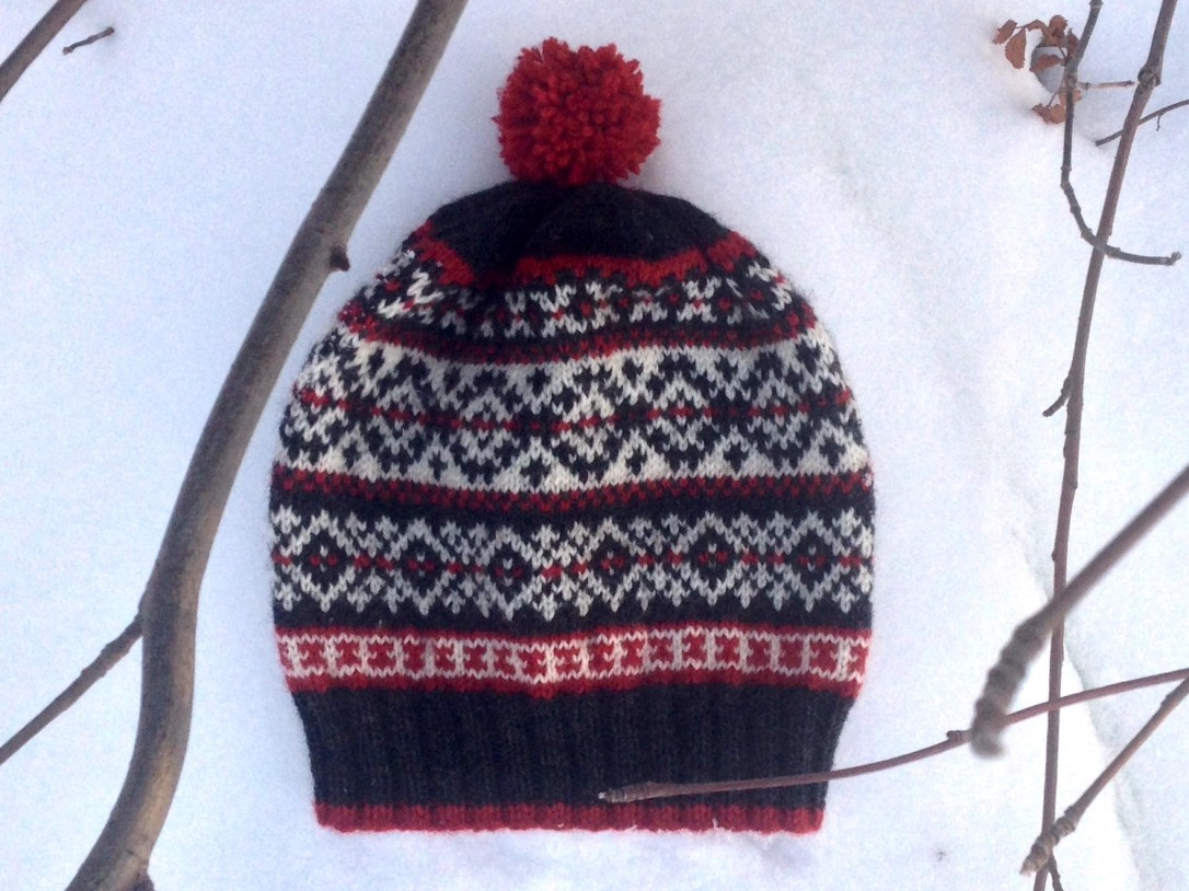 Gretna Fair Isle Hat by Paper Birch Knits
