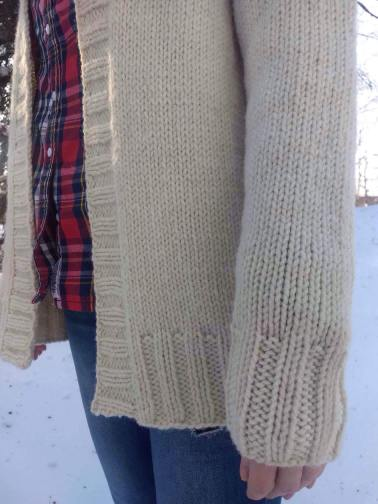 Fairfax Cardigan Pattern by Paper Birch Knits