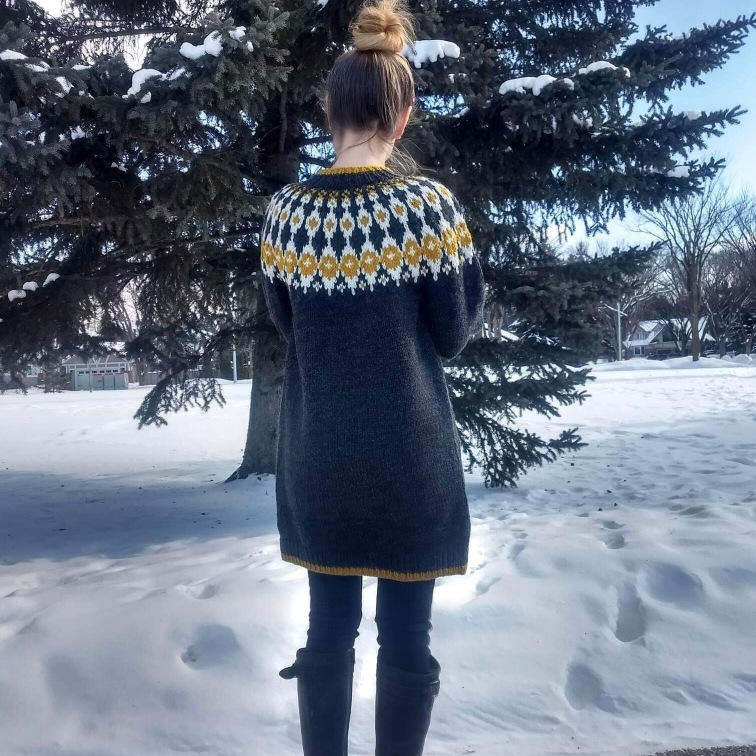 Sycamore Sweater Coat by Paper Birch Knits